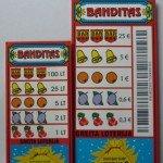Loterijos bilietų Banditas palyginimas