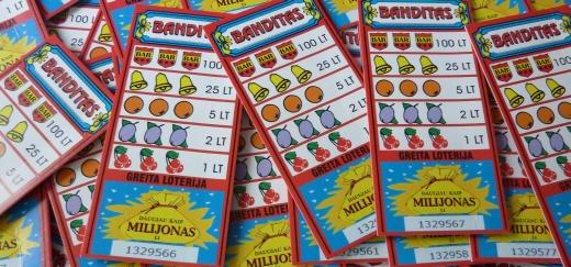 Momentinė loterija Banditas