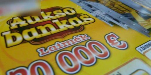 Loterija Aukso bankas