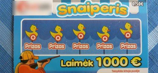 Momentinė loterija Snaiperis