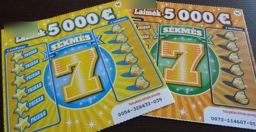 naujo tipo sekmes 7 loterija